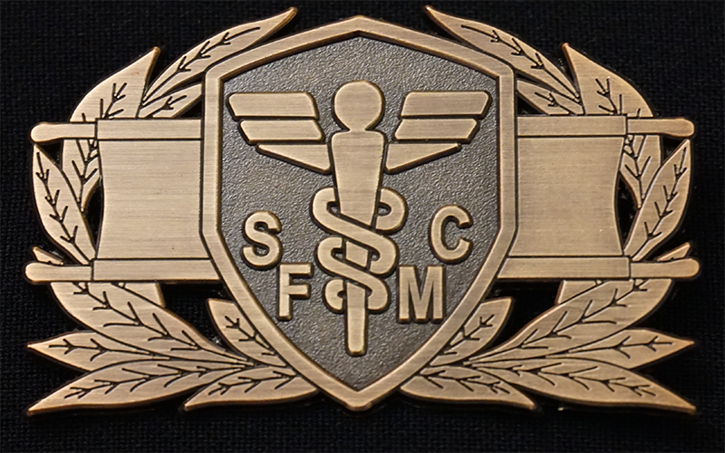 SFMC Field Medic Badge